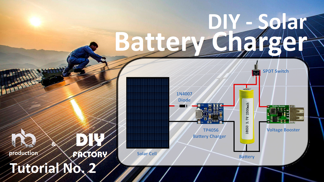 Diy Solar Battery Charger Arduino Maker Pro Tracker System