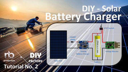 Diy Solar Battery Charger Arduino Maker Pro