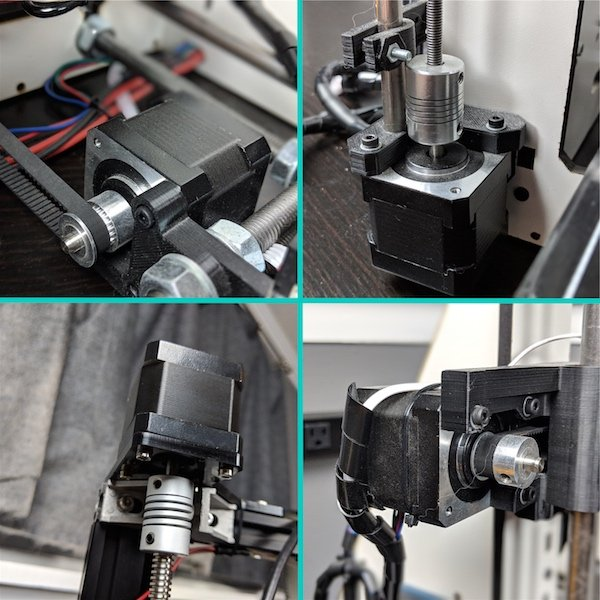 stepper motors in 3D printers