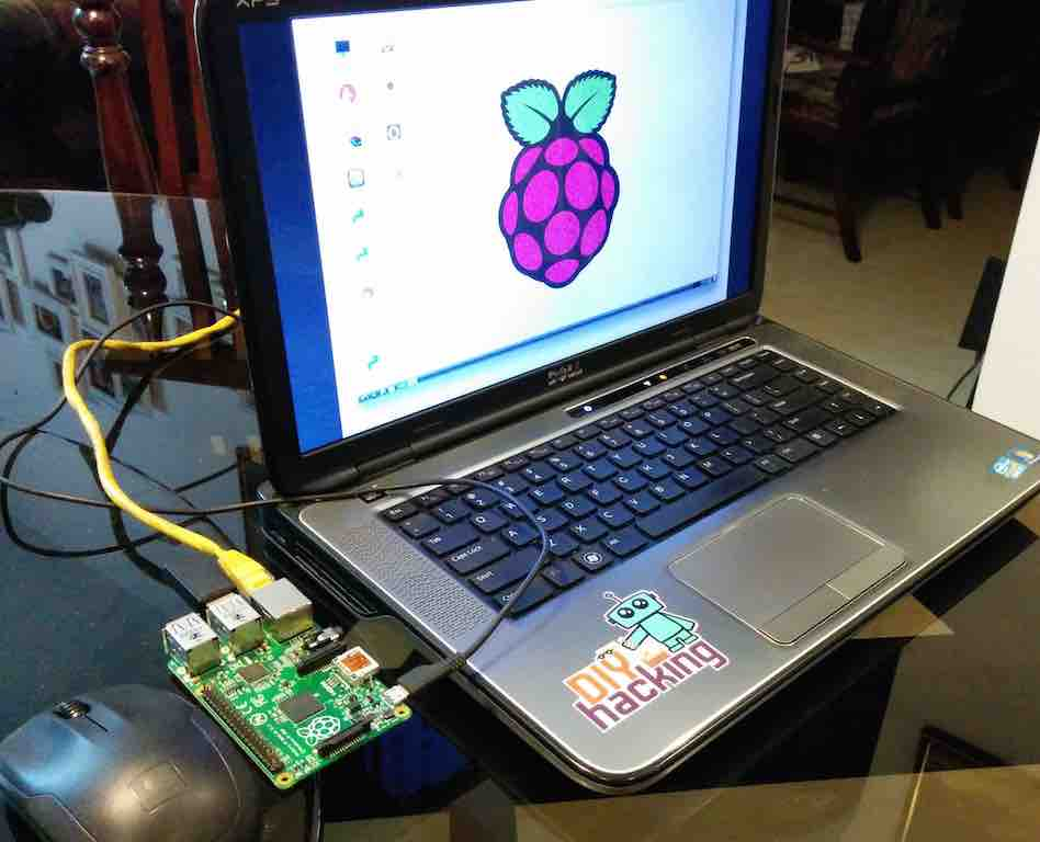 How To Connect A Raspberry Pi To A Laptop Display