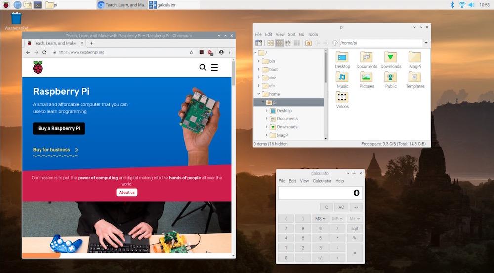 Raspbian 'Buster': Software Update for Raspberry Pi ...