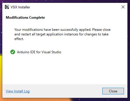 plugin installed successfully