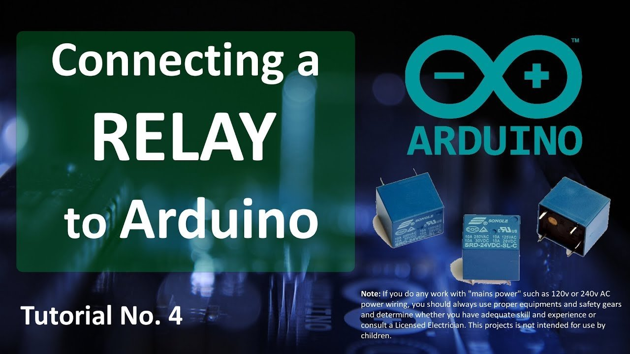 Driving A Relay With An Arduino Maker Pro Electrical Noise