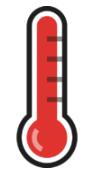 warning icon Pi high temperature