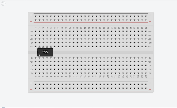 add 555 timer to Tinkercad design