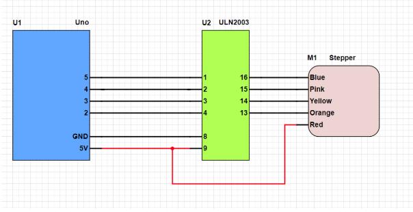 How to Control a Stepper Motor | Arduino | Maker Pro Xyz Phase Wiring Schematic on phase converter schematic, 3 phase control schematic, ac motor speed control schematic, 3 phase generator schematic, 3 phase diagram, starter schematic, 3 phase capacitor, rectifier schematic, reversing motor schematic, 3 wire switch schematic, transformer schematic,
