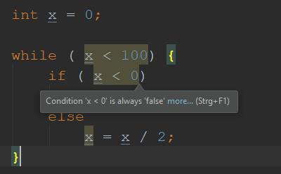 IDE built in debugger