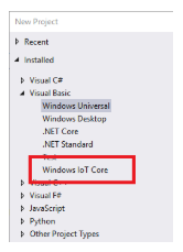 Verifying Windows IoT Core is installed