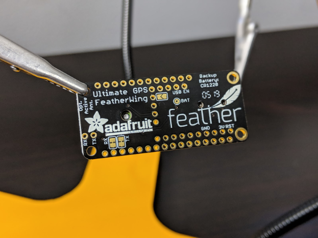 The Adafruit Ultimate GPS FeatherWing