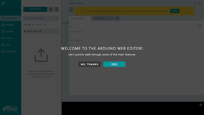 Getting Started With the Arduino Web Editor | Arduino