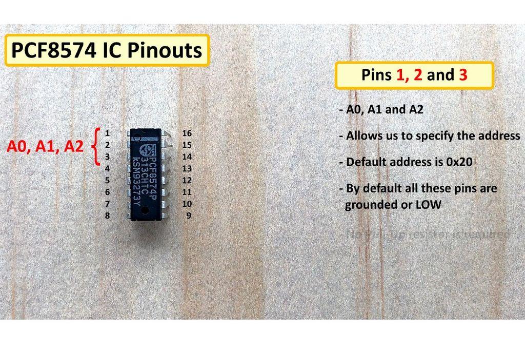 PCF8574 GPIO Extender - With Arduino and NodeMCU   Arduino
