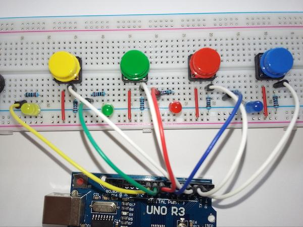 connecting led anodes to arduino