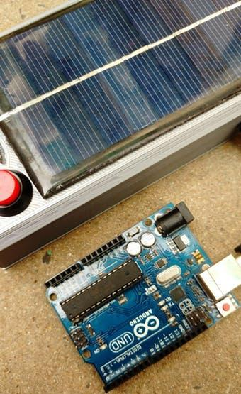 Adding a solar panel to this circuit powers projects in remote locations.