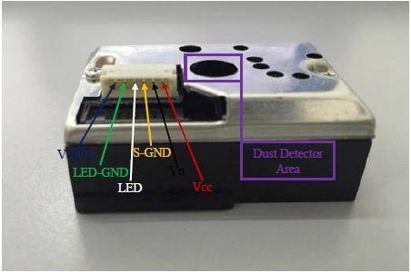 connections on sharp optical sensor