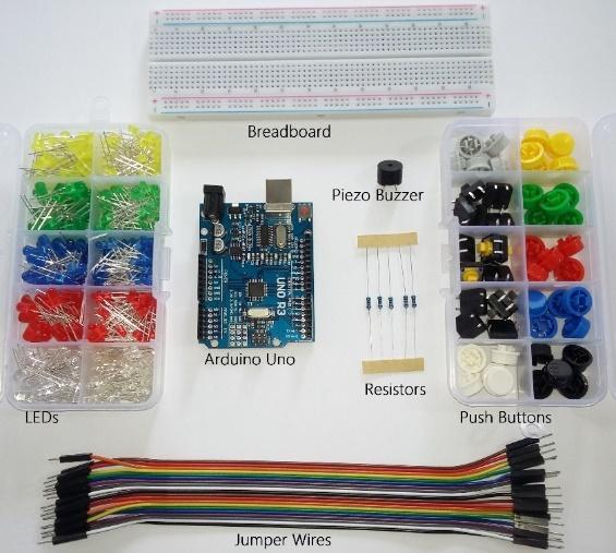 Arduino memory game hardware