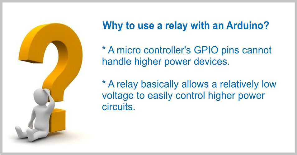 DRIVING A RELAY WITH AN ARDUINO | Arduino | Maker Pro