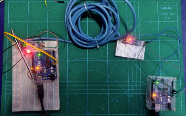 How to Create Long-Distance Serial Communication Between