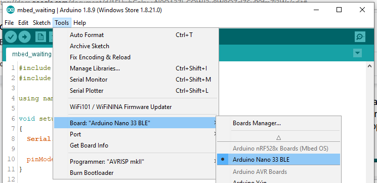 How to Use Mbed RTOS Features on the Arduino Nano 33 BLE