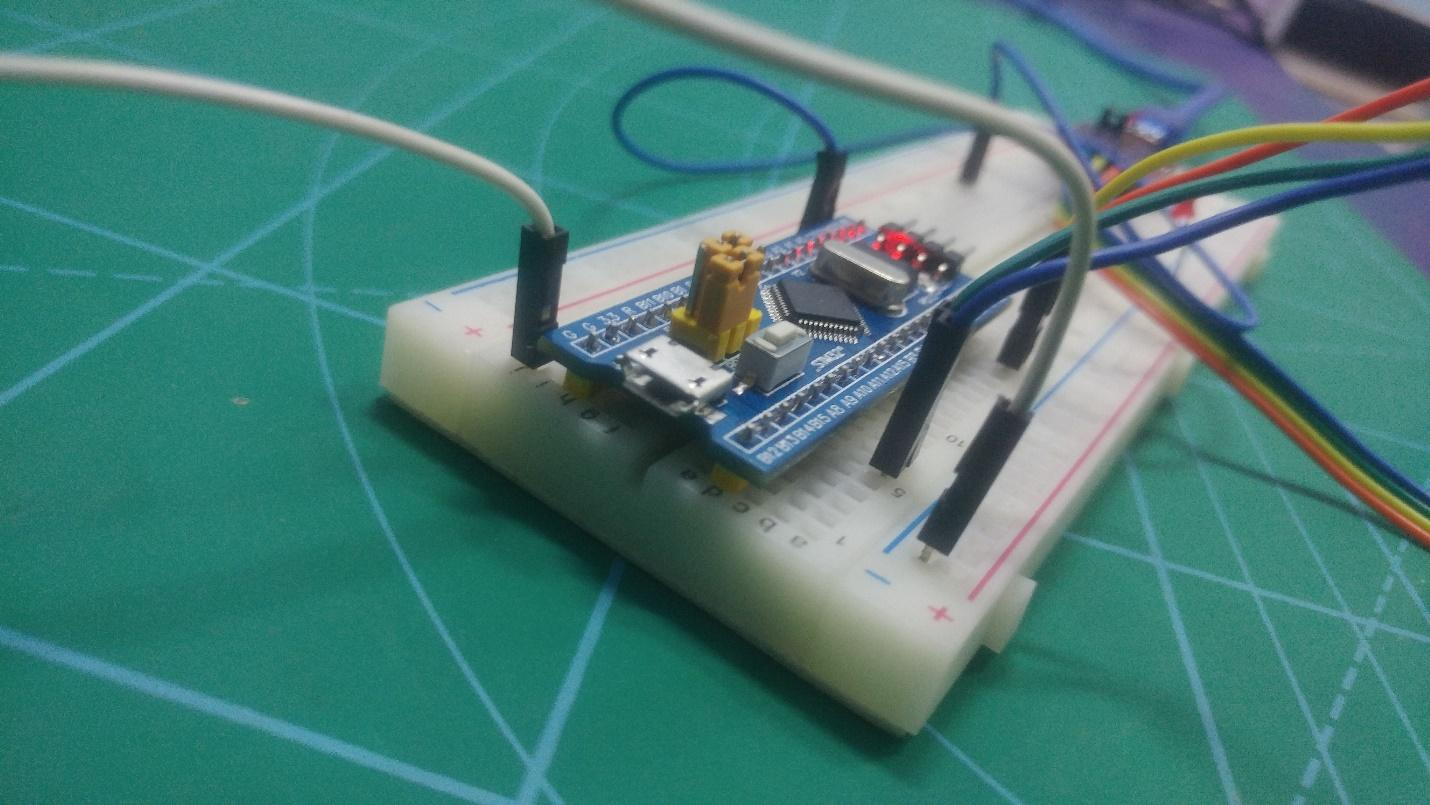 stm32 breadboard build
