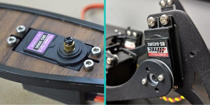 servo motor examples