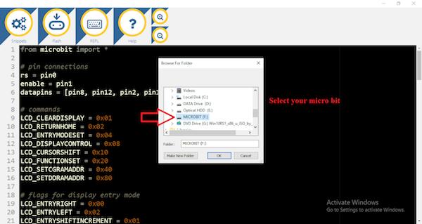 为code upload.png选择microbit