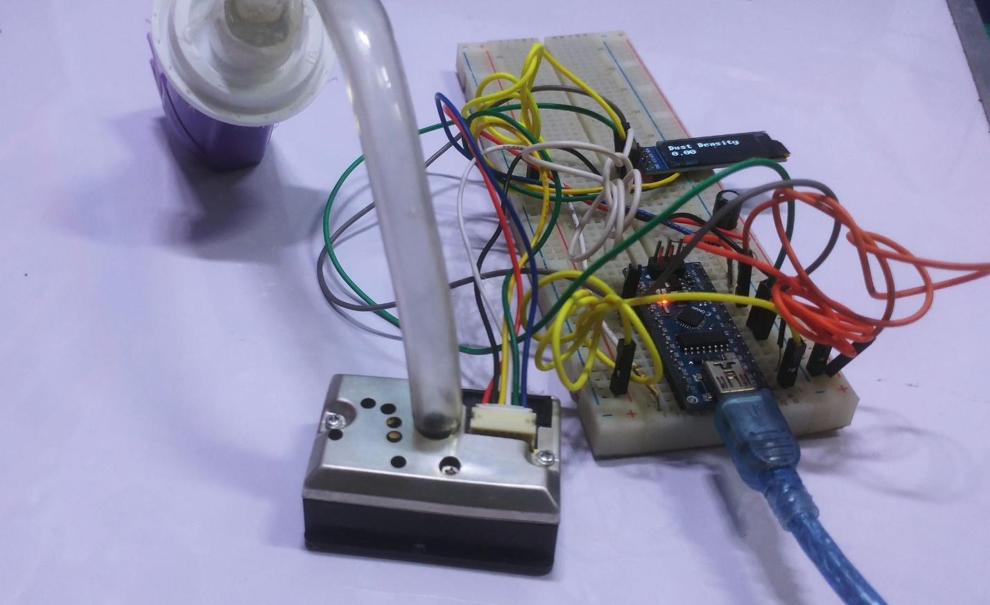 Arduino Uno Sharp Dust Sensor Tutorial | Arduino | Maker Pro